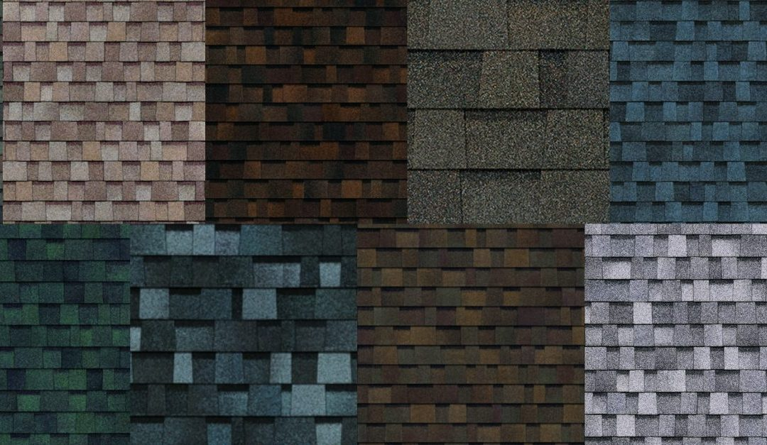 Choosing a shingle style and color.